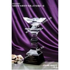 OG03002 高級水晶獎盃
