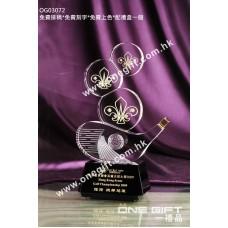 OG03072 高爾夫球水晶獎座