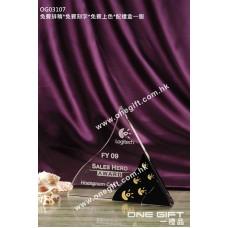 OG03107 三角形水晶座