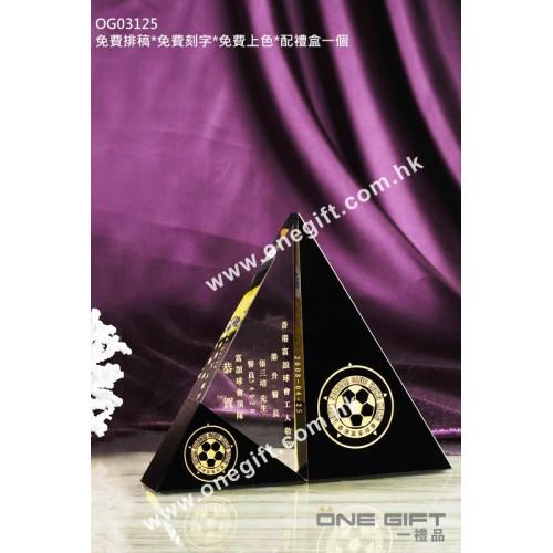 OG03125 三角形水晶座