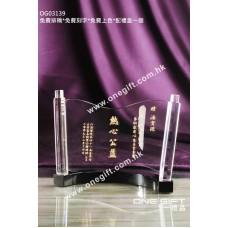 OG03139 捲軸形水晶座