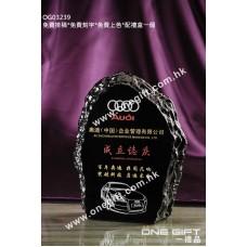 OG03239 外形獨特的水晶獎牌
