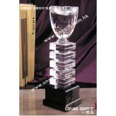 OG06005 四方柱水晶獎盃