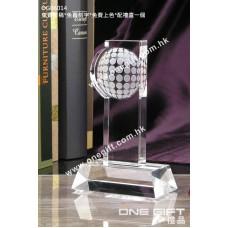 OG06014 全透明高爾夫球水晶