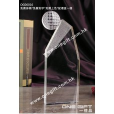 OG06016 全透明高爾夫球水晶
