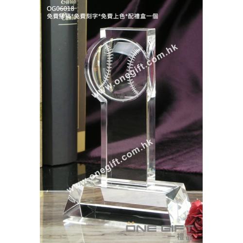 OG06018 全透明網球水晶