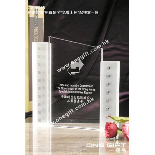 OG06055 全透明紀念水晶