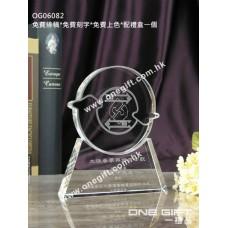 OG06082 全透明紀念水晶