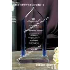OG06111 紀念水晶連藍色水晶配件