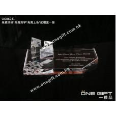 OG06241 簡約設計水晶咭片座