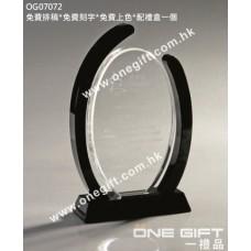 OG07072 橢圓形晶座