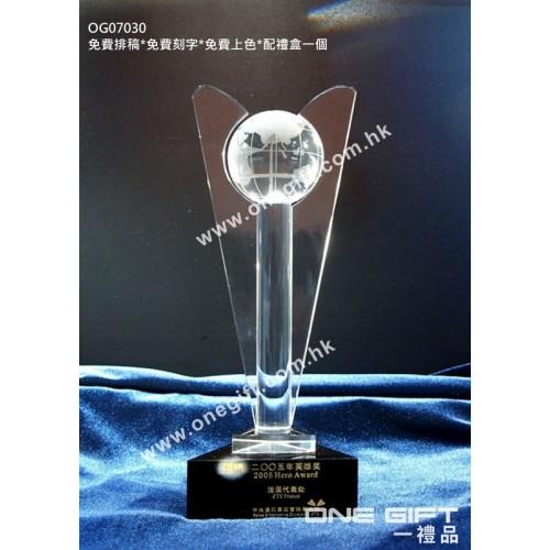 OG07030 地球紀念水晶座
