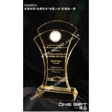 OG08052 全透明紀念水晶