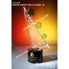 OG11045 紀念水晶連綠色水晶配件