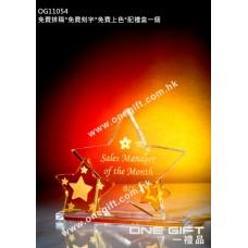 OG11054 雙星水晶座