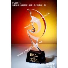 OG11076 舞蹈形紀念水晶獎盃