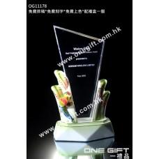 OG11178 紀念水晶連鸚鵡陶瓷底座配件