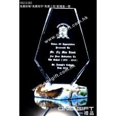 OG11182 紀念水晶連飛鷹陶瓷配件