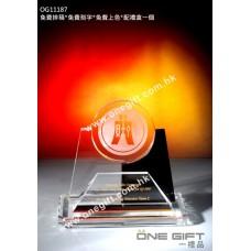 OG11187 水晶名片座