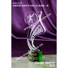 OG11228 網球水晶座