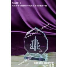 OG11239 尖形水晶獎座