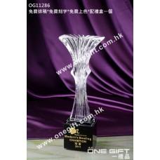 OG11286 白琉璃獎座