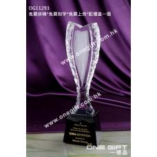 OG11293 白琉璃獎座
