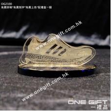 OG2100 球鞋形狀水晶名片座