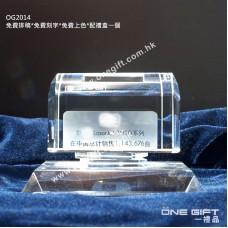 OG2014 全透明水晶立體模型 3D Model Crystal