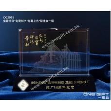 OG2019 全透明水晶雷射內雕模型 3D Laser Crystal