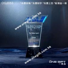 OG2053  特別訂製水晶獎座 Tailor Made Crystal