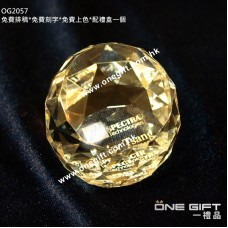 OG2057 水晶紙鎮 crystal paper weight