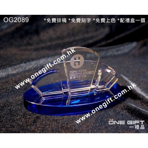 OG2089 精緻水晶卡片座 Crystal Cardholder