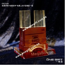 OG2108 九龍灣 Mega Box 3D立體水晶模型