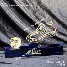 OG2110 足球金靴獎水晶