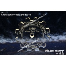 OG2132 全透明齒輪水晶
