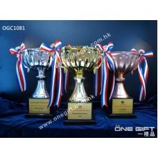 OGC1081 高級金屬獎盃 合用於各大小賽事