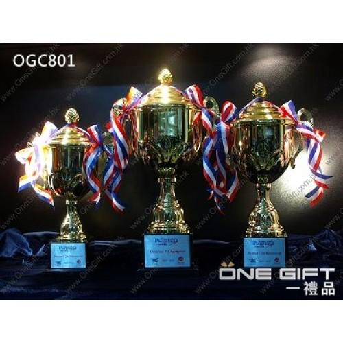 OGC801 百變配搭獎盃 頂部能更換各種運動項目