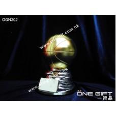 OGN202 高級實心籃球獎座