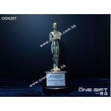OGN207 金像獎金屬獎座