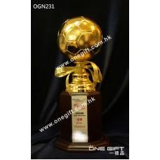 OGN231高級足球獎座