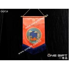 OGF14 全彩印製錦旗 適用於各種場合
