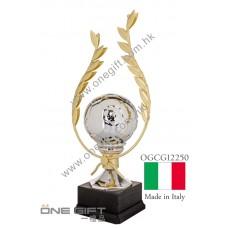 OGCG12250 意大利進口足球獎座