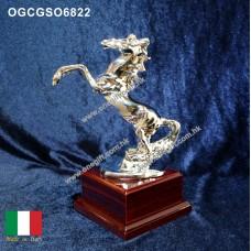 OGCGSO6822 馬首是瞻獎座 合新店開張 昇職喬遷之用 袖珍尺寸 合放於小空間 (細) Resin Horse Trophy