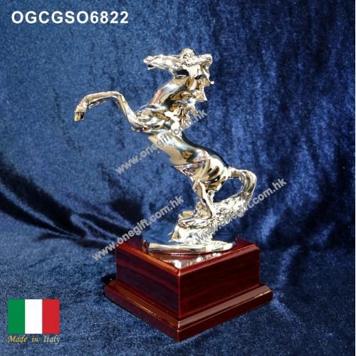 OGCGSO6822 馬首是瞻獎座 合新店開張 昇職喬遷之用 袖珍尺寸 合放於小空間 (細)