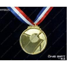 HY002S 50mm直徑乒乓球獎牌