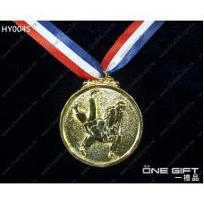 HY004S 50mm直徑柔道獎牌