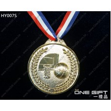 HY007L 65mm直徑籃球獎牌