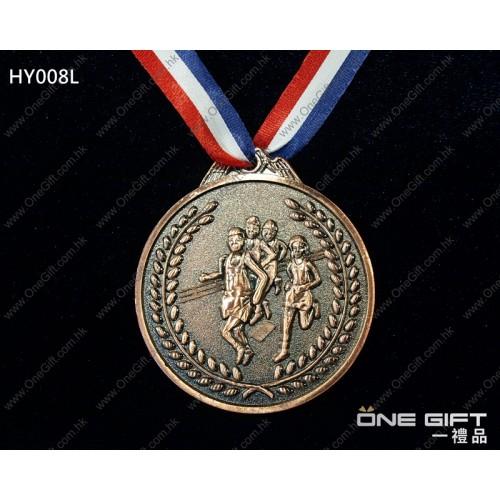 HY008L 65mm直徑田徑獎牌