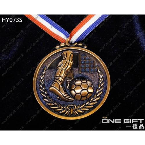 HY073S 50mm直徑足球獎牌